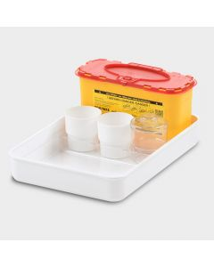 Melijekt Blutentnahme-/Spritzen-Tablett